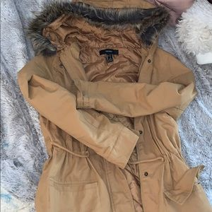Tan jacket size small
